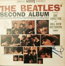 Paul McCartney The Beatles Signed Autographed 2nd Album Vinyl Exact Photo Proof