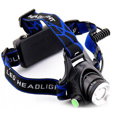 Zoomable Q5 LED Headlamp Powered Head Lamp Torch for Hunting Fishing Camping