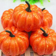 5x Halloween künstliche Kürbise dekorative Fälschung Früchte Gemüseverzierungen