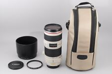 "#1394""""""Excellent++ in Case"""""" Canon EF 70-200mm f/4 L IS USM Lens from JAPAN"