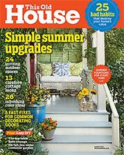 BRAND NEW! This Old House Magazine Aug 2015 FREE SHIPPING!