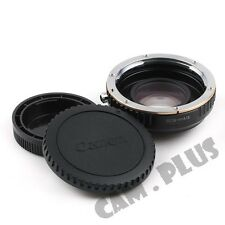 Pixco Speed Booster Focal Focus Lens Adapter Ring For Canon EF EOS To Micro 4/3