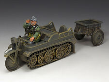 WH023 Sd.KFz.2 Kettenkrad and Trailer by King & Country