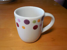 Pampered Chef Simple Addi+ions DOTS Set of 5 Mugs A