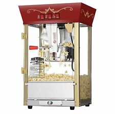 NEW Red 6091 Matinee Movie 8-oz Antique Commercial Grade Popcorn Machine Maker