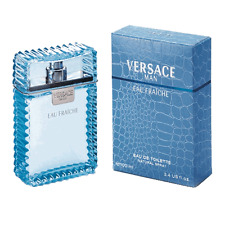 VERSACE MAN EAU FRAICHE * Cologne for Men * 3.3 / 3.4 oz * NEW IN BOX & SEALED