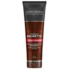 4 x John Frieda Brilliant Brunette Visibly Deeper Shampoo 250ml