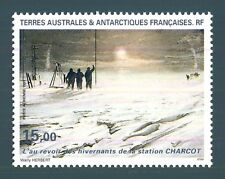 TAAF - PA - 1995 - Il saluto allo svernamento, Stazione di Charcot
