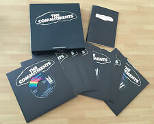 """RARO BOX PROMOZIONALE 7 x 7"""" + BOOKLET OST THE COMMITMENTS ANDREW STRONG HANSARD"""