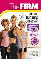 The FIRM ULTIMATE FAT BURNING COLLECTION (DVD) jump jab cardio overdrive NEW