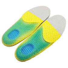 Women's Gel Soft Running Insoles Insert Shoe Pad Arch Support Cushion 35-40