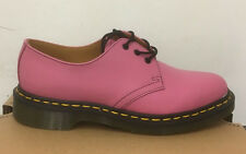 DR. MARTENS 1461 CANDY PINK  SOFTY T   LEATHER  SHOES SIZE UK 8