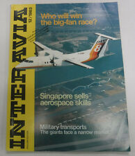 Interavia Magazine Singapore Sells Aerospace Skills December 1983 FAL 081915R2