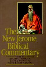 The New Jerome Biblical Commentary by Raymond E. Brown (1989, Hardcover)