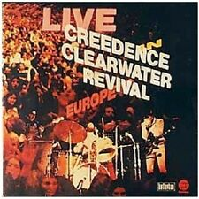 "CREEDENCE CLEARWATER REVIVAL ""LIVE IN... (REM.)"" CD NEU"