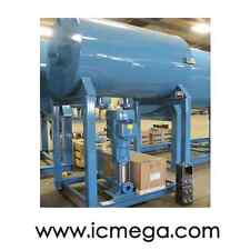 NEW Boiler Feedwater System SIMPLEX 528 GAL