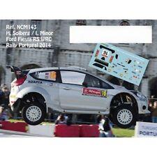 DECALS 1/43 FORD FIESTA RS WRC - #16 SOLBERG - RALLYE DU PORTUGAL 2014 - NCM143