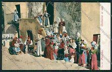 Palermo Costumi Siciliani cartolina QQ0849