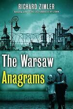 The Warsaw Anagrams: A Novel - New - Zimler, Richard - Hardcover
