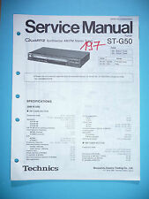 Service-Manual für Technics ST-G50  ,ORIGINAL