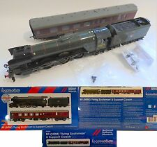 A3 HORNBY / NRM EXCLUSIVE R3503 BR FLYING SCOTSMAN & SUPPORT COACH DCC READY NEW