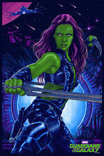 Gamora Poster - Mondo - Vance Kelly - Limited Edition - Guardians of the Galaxy