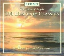 Voices Of Angels-100 Heavenly Classics -5 CD's Best Loved Choral Masterpieces EX