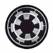 Star Wars Black Imperial Forces Badge Embroidered Patch Badge Sew/Iron-on 9cm