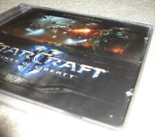 Starcraft II Collector Edition Soundtrack MUSIC CD (PC/Win8/10/Mac) 2 new SEALED