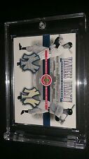YANKEES DYNASTY DUAL JERSEY MANTLE AND DIMAGGIO -  RARE!!!