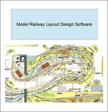 Simple CAD software for designing Model Railway Layouts Alternative to hornby