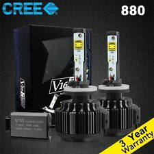 60W 7200LM Cree LED Headlight Kit 880 881 6000K HID Bulbs White 1 Pair New