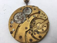 ANTIQUE  POCKET WATCH MOVEMENT ONLY  FOR PARTS SOLD AS IS #26