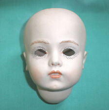 Porzellankurbelkopf Bru Antique-Repro 9,8 cm/ porc. doll head antique repro