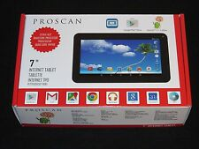 "New Unopened Proscan 7"" 8GB 5.1 Lollipop Quad-Core WiFi Camera GooglePlay Tablet"