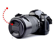 72mm 72 mm Center-Pinch Snap-on Front Lens Cap Cover for Canon Nikon SLR Camera