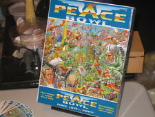 PeaceBowl Strategy Board Game Fantasy Football New (opened but still unpunched)