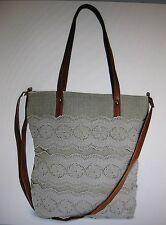 T-Shirt & Jeans Camila Crochet Tote Bage - NWT