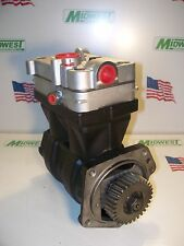 20701801, 4127040080, Wabco 85mm Rebuilt Air Brake Compressor with NEW Head