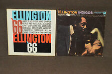 DUKE ELLINGTON 2 LP LOT VINYL ALBUMS COLLECTION Indigos / Ellington '66 JAZZ