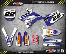 Full Custom Graphic Kit Yamaha YZ 125 - 2015 - 20017 decals SHOCKWAVE style