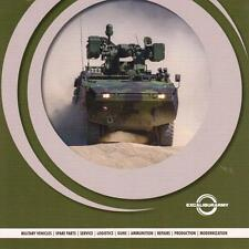 EXCALIBUR ARMY 2015 CZECH ARMY MILITARY BROCHURE PROSPEKT CATALOGUE FOLDER