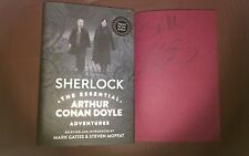 Sherlock The Essential Arthur Conan Doyle Adventures Dual SIGNED 1st Edition