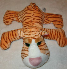 Tri Russ Plush Tiger Zoey Big Green Eyes Orange Stripe Cat Stuffed Animal Toy