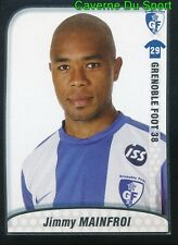 088 JIMMY MAINFROI FRANCE GRENOBLE FOOT 38 STICKER FOOT 2010 PANINI
