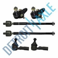 Brand New 6pc Both Inner and Outer Tie Rod Ball Joint for 96-02 Toyota Corolla