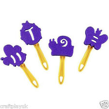 Sponge Bug paint Stampers - butterfly, bee, snail, ladybird