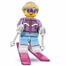 LEGO Minifigure Series 8 Downhill Skier Girl (NEW & SEALED)