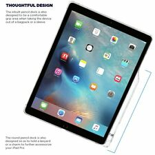 Poetic iPad Pro 12.9 Case with Pencil Holder and Apple Smart Keyboard Clear NEW