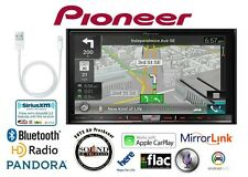 "Pioneer AVIC-8200NEX 7"" Navigation DVD Receiver w/ Lightening to USB Adapter"